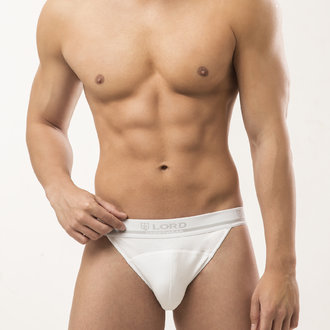 Cut briefs with visible waistband  245