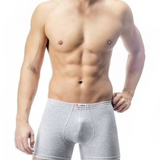 Boxer briefs with covered elastic      260