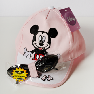 Cap with sunglasses UV400 Minnie Mouse